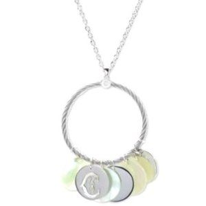 CHARRIOL  Mother-of-Pearl Sterling Silver necklace